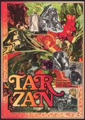 "Movie Posters:Adventure, Greystoke: The Legend of Tarzan, Lord of the Apes (Warner Brothers,1985). Czech Poster (11.5"" X 16""). Adventure.. ..."