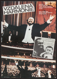 """Distant Harmony (Ely Promotion, Late 1980s). Czech Poster (11.75"""" X 16.5"""") DS. Documentary"""