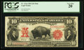 Large Size:Legal Tender Notes, Fr. 121 $10 1901 Legal Tender PCGS Very Fine 20.. ...