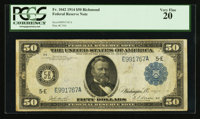 Fr. 1042 $50 1914 Federal Reserve Note PCGS Very Fine 20