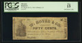 Obsoletes By State:Louisiana, New Orleans, LA- W. Hoyer & Co. 50¢ Mar. 1 , 1862 . ...