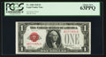 Small Size:Legal Tender Notes, Fr. 1500 $1 1928 Legal Tender Note. PCGS Choice New 63PPQ.. ...