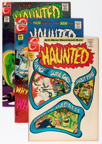 Haunted Savannah pedigree Group (Charlton, 1971-78) Condition: Average VF/NM.... (Total: 23 Comic Books)