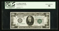 Small Size:Federal Reserve Notes, Fr. 2050-K $20 1928 Federal Reserve Note. PCGS Choice About New 58.. ...