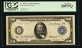 Large Size:Federal Reserve Notes, Fr. 1043 $50 1914 Federal Reserve Note PCGS Very Fine 20PPQ.. ...