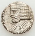 Ancients:Oriental, Ancients: PARTHIAN KINGDOM. Vardanes II (ca. AD 55-58). Billon Tetradrachm (14.60 gm)....