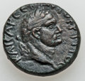 Ancients:Judaea, Ancients: HERODIANS. Agrippa II (AD 49/50-94/95), for Titus Caesar(AD 69-79). AE 23mm (12.75g)....