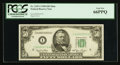 Small Size:Federal Reserve Notes, Fr. 2107-I $50 1950 Mule Federal Reserve Note. PCGS Gem New 66PPQ.. ...