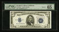 Small Size:Silver Certificates, Fr. 1654* $5 1934D Narrow Silver Certificate. PMG Gem Uncirculated 65 EPQ.. ...