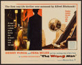 "Movie Posters:Hitchcock, The Wrong Man (Warner Brothers, 1957). Half Sheet (22"" X 28"").Hitchcock.. ..."
