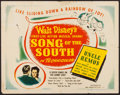 """Movie Posters:Animation, Song of the South (RKO, 1946). Half Sheet (22"""" X 28"""") Style A. Animation.. ..."""