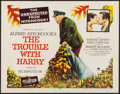 """Movie Posters:Hitchcock, The Trouble with Harry (Paramount, 1955). Half Sheet (22"""" X 28"""")Style B. Hitchcock.. ..."""