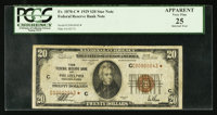 Fr. 1870-C* $20 1929 Federal Reserve Bank Note. PCGS Apparent Very Fine 25