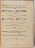 Books:Non-fiction, Charles Deering. Nottinghamia Vetus et Nova or an Historical Account of the Ancient and Present State of the Town of Not...
