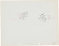 Animation Art:Production Drawing, Camping Out Mickey and Minnie Mouse Production DrawingAnimation Art (Walt Disney, 1934)....