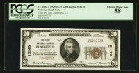 Plainfield, CT - $20 1929 Ty. 1 The First NB Ch. # 10145