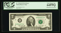 Error Notes:Mismatched Serial Numbers, Fr. 1935-B $2 1976 Federal Reserve Note. PCGS Very Choice New 64PPQ.. ...