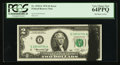 Error Notes:Ink Smears, Fr. 1935-E $2 1976 Federal Reserve Note. PCGS Very Choice New64PPQ.. ...