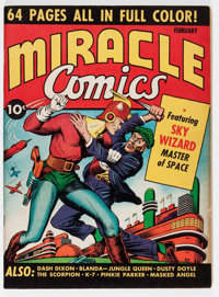 Miracle Comics #1 (Hillman Publications, 1940) Condition: VF
