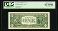 Error Notes:Third Printing on Reverse, Fr. 1921-D $1 1995 Federal Reserve Note. PCGS Choice New 63PPQ.. ...