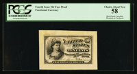 Milton 4E10F.2a Fourth Issue Essay Choice New PCGS Choice About New 58