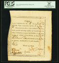 Colonial Notes:Massachusetts, State of Massachusetts Bay £10 Treasury Certificate January 28,1777 Anderson MA-6 PCGS Apparent Very Fine 35.. ...