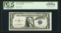 Error Notes:Major Errors, Fr. 1613N $1 1935D Silver Certificate. PCGS About New 53PPQ.. ...