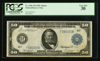 Fr. 1046 $50 1914 Federal Reserve Note PCGS Very Fine 30