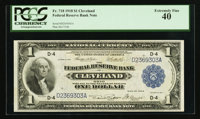 Fr. 718 $1 1918 Federal Reserve Bank Note PCGS Extremely Fine 40