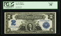 Large Size:Silver Certificates, Fr. 251 $2 1899 Silver Certificate PCGS Very Fine 30.. ...