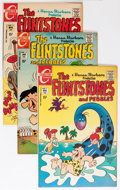 Bronze Age (1970-1979):Cartoon Character, The Flintstones Group - Savannah pedigree (Charlton, 1970-76)Condition: Average VF/NM.... (Total: 44 Comic Books)