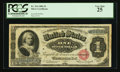 Large Size:Silver Certificates, Fr. 216 $1 1886 Silver Certificate PCGS Very Fine 25.. ...