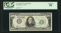 Fr. 2202-B $500 1934A Mule Federal Reserve Note. PCGS About New 50
