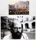 "Autographs:Authors, Allen Ginsberg Signed Publicity Photograph. 10"" x 7"", black andwhite publicity photo signed and dated in the lower right co..."