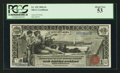 Large Size:Silver Certificates, Fr. 225 $1 1896 Silver Certificate PCGS About New 53.. ...