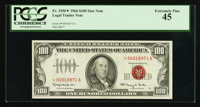 Fr. 1550* $100 1966 Legal Tender Note. PCGS Extremely Fine 45