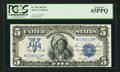 Large Size:Silver Certificates, Fr. 281 $5 1899 Silver Certificate PCGS Gem New 65PPQ.. ...