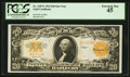 Large Size:Gold Certificates, Fr. 1187* $20 1922 Gold Certificate PCGS Extremely Fine 45.. ...