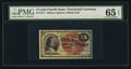 Fractional Currency:Fourth Issue, Fr. 1271 15¢ Fourth Issue PMG Gem Uncirculated 65 EPQ.. ...