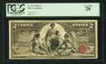 Large Size:Silver Certificates, Fr. 247 $2 1896 Silver Certificate PCGS Very Fine 20.. ...