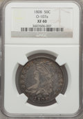 Bust Half Dollars: , 1808 50C XF40 NGC. O-107a. NGC Census: (45/315). PCGS Population(83/334). Mintage: 1,368,600. Numismedia Wsl. Price for p...