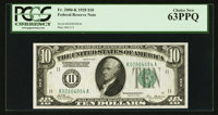 Fr. 2000-K $10 1928 Federal Reserve Note. PCGS Choice New 63PPQ