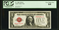 Fr. 1500 $1 1928 Legal Tender Note. PCGS Very Choice New 64