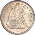 Seated Dollars, 1857 $1 MS66 NGC....