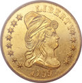 Early Eagles, 1799 $10 Small Stars Obverse AU55 PCGS. BD-7, R.3....