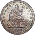 Seated Quarters, 1846 25C MS66 NGC....