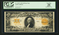 Large Size:Gold Certificates, Fr. 1187* $20 1922 Gold Certificate PCGS Apparent Very Fine 20.. ...