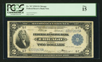 Fr. 767 $2 1918 Federal Reserve Bank Note PCGS Fine 15