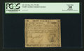 Colonial Notes:South Carolina, South Carolina October 19, 1776 $8 PCGS Apparent Very Fine 30.. ...