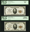 Small Size:Federal Reserve Bank Notes, Fr. 1870-C $20 1929 Federal Reserve Bank Note. PCGS Choice New 63PPQ; Fr. 1870-I $20 1929 Federal Reserve Bank Note. PCGS Choi... (Total: 2 notes)
